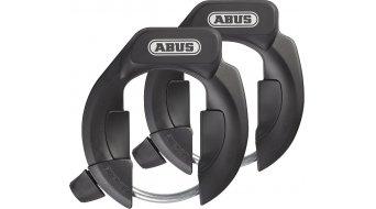 Abus Amparo 4850 Twin-Set NKR Fahrradschloss Rahmenschloss schwarz (inkl. LH Halterung)