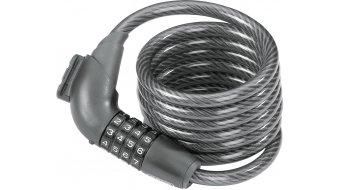 Abus Tresor 1350 candado para bicicleta cable(-s)-/candado de combinación 185cm-largo(-a) negro(-a) (incl. KF soporte de candado)