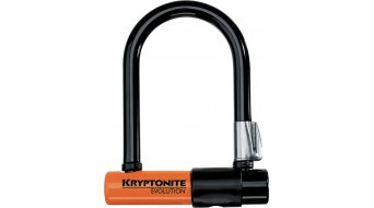 Kryptonite Evolution Mini-5 8cm x 14cm candado de arco parabólico, incl. soporte Flexframe