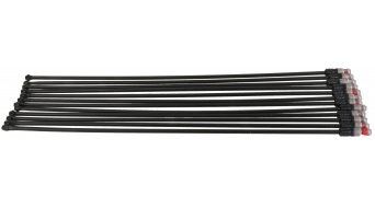 Mavic Crossmax SX 2012-14  M7/7 Speichenkit Non-Driveside HR 266,5mm schwarz (12 Stk)