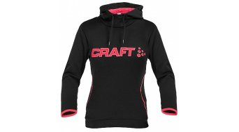 Craft logo sweat à capuche femmes-sweat à capuche taille M black/crush