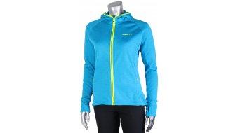 Craft Warm Hood chaqueta sudadera con capucha Señoras-chaqueta sudadera con capucha tamaño M brisk/flumino