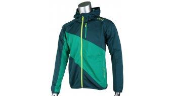 EVOC Logo felpa zip da uomo con cappuccio Zip-Hoodie mis. S petrol/green