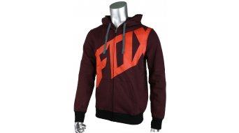 FOX Tainted felpa zip da uomo con cappuccio Zip Hoodie mis. L heather burgundy