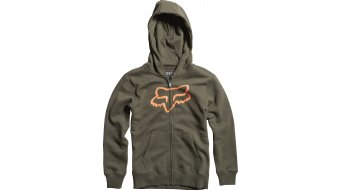 Fox Tract Kapuzenjacke Kinder-Kapuzenjacke Boys Zip Hoodie Gr. 152/164 (XL) dark fatigue