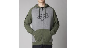 FOX Heighten veste à capuche hommes-veste à capuche Zip Hoodie taille S heather graphite