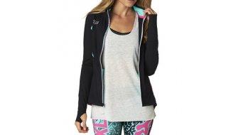 Fox Cauz Sweatjacke Damen-Sweatjacke Track Jacket black