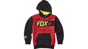 Fox Scour Kapuzenjacke Kinder-Kapuzenjacke Youth Zip Hoodie flame red