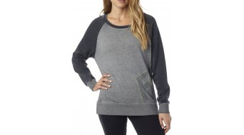 Fox Angled jersey Señoras-jersey Crew Neck tamaño L heather grey