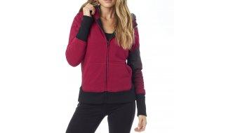 Fox Intent Sasquatch Kapuzenjacke Damen-Kapuzenjacke Zip Hoodie burgundy