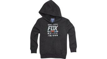 Fox Draftr Sherpa Youth 儿童 Zip Hoodie 型号 black