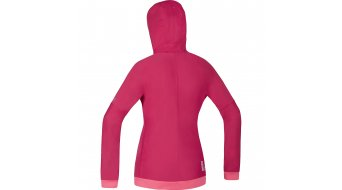 GORE Bike Wear Power Trail Sweatjacke Damen-Sweatjacke MTB Lady Windstopper Soft Shell Zip Hoodie Gr. 34 jazzy pink/giro pink