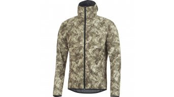 GORE Bike Wear Element Urban Print Kapuzenjacke Herren-Kapuzenjacke Windstopper Zip Hoodie camouflage