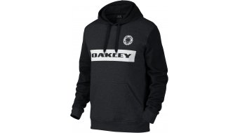 Oakley Race felpa da uomo con cappuccio Hoodie . jet black heather (Regular Fit)