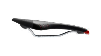 Fizik Tundra M5 MTB saddle Mangan- frame black/red