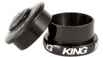 Chris King InSet I5 Mixed Tapered GripLock dirección semi-integrado negro (ZS49/28.6 EC49/40)