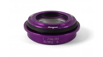 Hope Top 2 Steuersatzschale oben integral purple (ZS44/28.6)