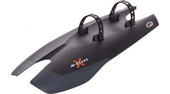 SKS paraspruzzi X-Board montaggio am tubo inferiore plastica nero