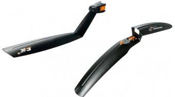 SKS Steckschutzblech-Set Shockboard u. X-Tra-Dry schwarz, vorne und hinten 2tlg