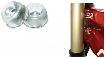 Shaman Bump-On Shock Absorber cuadro/horquilla clear (par)