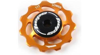 Hope Tooth Jockey Schaltwerksrolle unten (Stk.) 11T orange