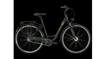 Bergamont Belami N3 28 Wave City- bike black-grey/green matt 2013