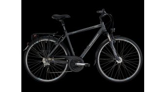 Bergamont Horizon 4.3 men trekking bike grey-white/cyan matt 2013