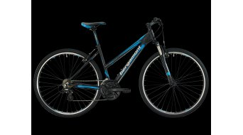 Bergamont Helix 2.3 ladies Cross bike black-cyan/white matt 2013