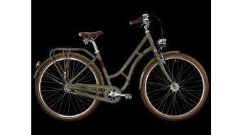 Bergamont Summerville N3 28 City- bike size 48cm mud green- gold brown shiny 2013