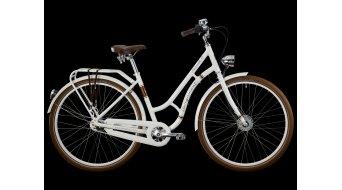 Bergamont Summerville N7 C5 Amsterdam 28 City- bike size 52cm white/gold brown (shiny) 2014