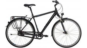 Bergamont Horizon N8 Suspension Gent 28 trekking bike black/cyan/grey (matt) 2014