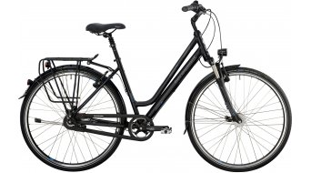 Bergamont Horizon N8 Suspension Amsterdam 28 trekking bike black/cyan/grey (matt) 2014