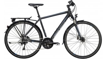 Bergamont Horizon 7.4 Gent 28 trekking bike black/grey/cyan (matt) 2014