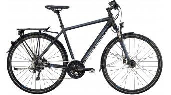 Bergamont Horizon 7.4 Gent 28 trekking bike black/grey/cyan (matt) 2014