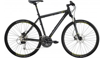 Bergamont Helix 4.4 Gent 28 Cross bike black/lime/grey (matt) 2014