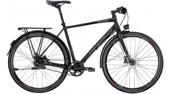 Bergamont Sweep MGN EQ Gates 28 Urban bike black/red/grey (matt) 2014