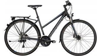 Bergamont Horizon 7.4 Lady 28 trekking bike black/grey/cyan (matt) 2014