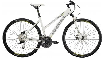 Bergamont Helix 4.4 Lady 28 Cross bike white/lime/grey (matt) 2014