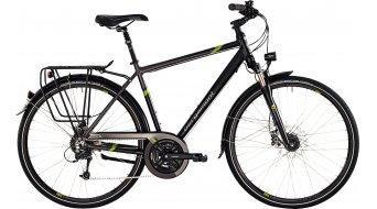 Bergamont Sponsor disc Gent 28 trekking bike mens version black/grey/green matt 2015