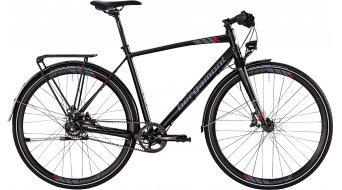 Bergamont Sweep MGN EQ 28 Urban bike mens version black/grey/red matt 2015