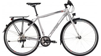 Bergamont Vitess LTD Gent 28 trekking bike mens version silver/grey/red shiny 2015