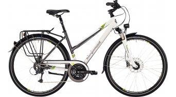 Bergamont Sponsor disc Lady 28 trekking bike ladies version white/grey/green shiny 2015