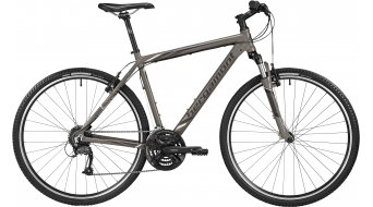 Bergamont Helix 3.0 Gent 28 Cross Komplettbike Herren-Rad lava grey/anthracite/white Mod. 2016