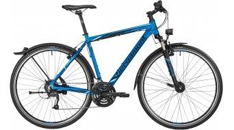 Bergamont Helix 4.0 EQ Gent 28 Crocsatlakozó komplett kerékpár férfi-Rad fjord blue/black/white 2016 Modell
