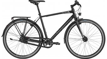 Bergamont Sweep N8 EQ Gent 28 Urban komplett kerékpár férfi-Rad raven black/anthracite/ezüst 2016 Modell