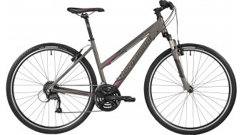 Bergamont Helix 3.0 Lady 28 Cross Komplettbike Damen-Rad lava grey/anthracite/purple Mod. 2016