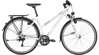 Bergamont Horizon LTD Lady 28 Trekking Komplettbike Damen-Rad pearl white/gold/grey Mod. 2016