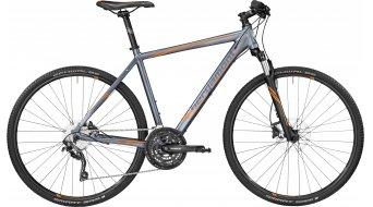 Bergamont Helix 7.0 28 Hybrid Komplettbike titan grey/orange (matt) Mod. 2017
