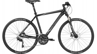 Bergamont Helix 9.0 28 Hybrid bici completa mis. 52cm black/anthracite/silver (opaco) mod. 2017