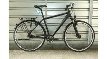 Bergamont Horizon N8 CB Amsterdam 28 Trekking 整车 男女皆宜的 型号 52厘米 black/grey (matt) 款型 2017- 样品/演示品